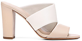 Vince Women's Hiro Colorblock Leather Mules