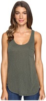 LAmade Boyfriend Tank w/ Pocket Women's Sleeveless