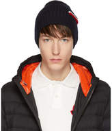 Moncler Navy Tricot Beanie