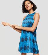 LOFT Lou & Grey Shibori Swing Dress
