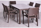 International Home Miami Liberty Dining Table Color: Brown