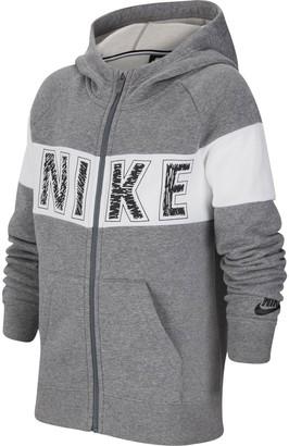 Nike Girls 7-16 Full-Zip Hoodie