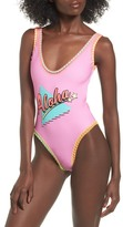 Topshop Aloha One-Piece Swimsuit