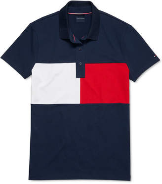 Tommy Hilfiger Adaptive Women Polo Shirt With Magnetic Closure
