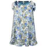 Diesel DieselGirls Blue Floral Print Dress