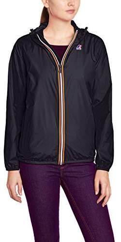 K-Way Women's Le Vrai Claudette Blouse Long Sleeve Raincoat -, Small (Manufacturer size: 8 / 82-86 cm)