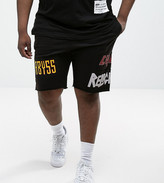 Religion Plus Jersey Shorts With Patches