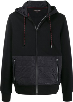 Michael Kors Panelled Hooded Jacket