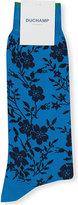 Duchamp Winter Rose Cotton-blend Socks