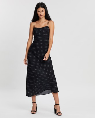 Third Form Seeker Bias Midi Slip Dress