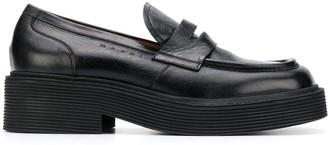 Marni Square Toe Loafers