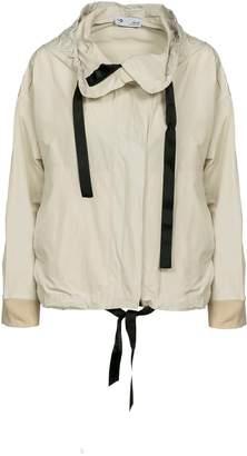 Naftul Recycled Nylon Ivory Windbreaker Jacket.