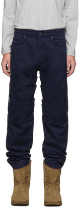 Y/Project Navy Layered Trousers