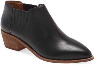 Madewell Sonia Low Leather Chelsea Boot