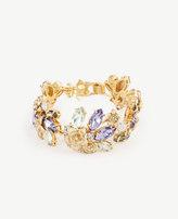 Ann Taylor Floral Statement Bracelet
