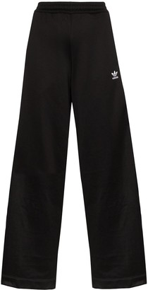 adidas Lace Stripe Wide-Leg Track Pants