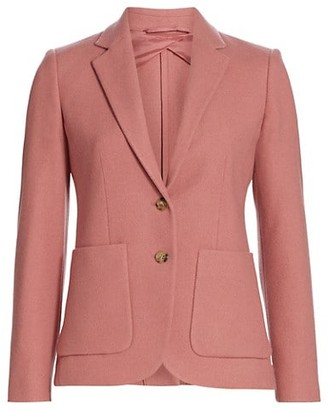 Max Mara John Two Button Jacket