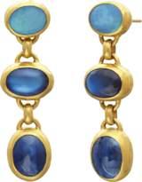Gurhan Limited Edition Triple Amulet Hue Earrings