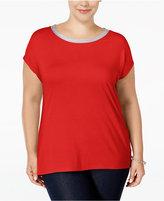 MICHAEL Michael Kors Size Embellished T-Shirt