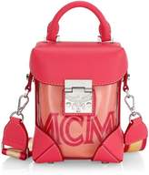 MCM Mini Soft Berlin Transparent Crossbody Box Bag