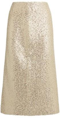 St. John Sequin Skirt