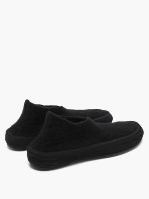 The Row Fairy Cashmere Boots - Black