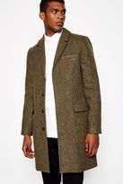 Jack Wills Linby Uk Made Overcoat