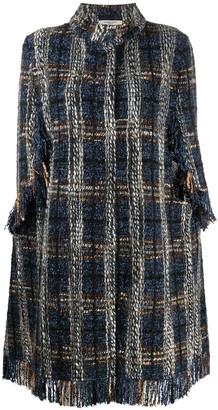 Charlott Tweed Cape Coat