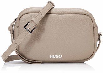 HUGO BOSS HUGO Downtown Crossb-s Womens Shoulder Bag Black 10x24x21 centimeters (B x H x T)