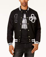 Sean John Men's Varsity Bomber Jacket