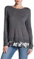 Joe Fresh Contrast Hem Sweater