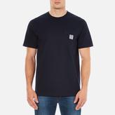 Carhartt Short Sleeve Slate Pocket Tshirt - Navy