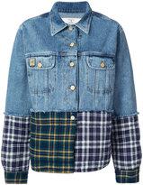 Natasha Zinko patchwork denim jacket