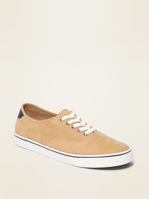 Old Navy Faux-Suede Lace-Up Sneakers for Men