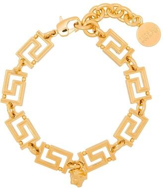 Versace Greca Medusa detail bracelet