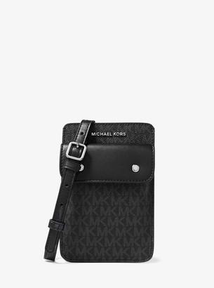 Michael Kors Logo Smartphone Crossbody Bag