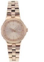 Fossil Women's AM4402 Stainless Steel Analog Pink Dial Watch