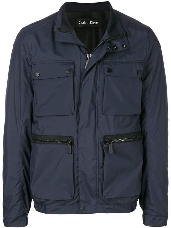 Calvin Klein military jacket