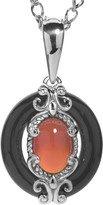 Carolyn Pollack Color Connections Gemstone Pendant w/ Chain