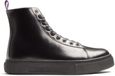 Eytys Kibo high-top leather trainers