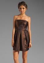 Shoshanna Clarendon Mattelasse Leora Dress