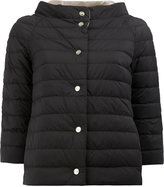 Herno reversible padded jacket - women - Feather Down/Polyamide/Polyurethane - 40