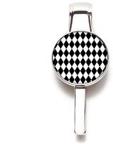 Hang Accessories Black & White Diamond Purse & Key Hanger