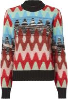 Missoni Multicolor Mixed Sweater Multi 42