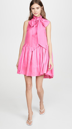 Azeeza Marie High Neck Mini Dress