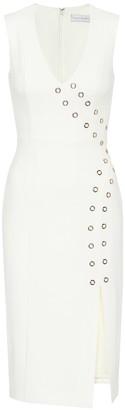 Rebecca Vallance Embellished crepe dress
