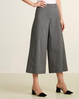 Hache High-Waisted Wide Leg Check Pants