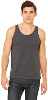 B.ella Canvas Unisex Jersey Tank, Dark Grey Heather