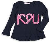 Pinc Premium Girls 2-6x Graphic Waffle-Knit Shirt