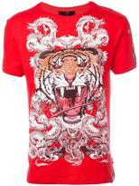 Philipp Plein Philipp Tiger T-shirt - men - Cotton/Spandex/Elastane - S